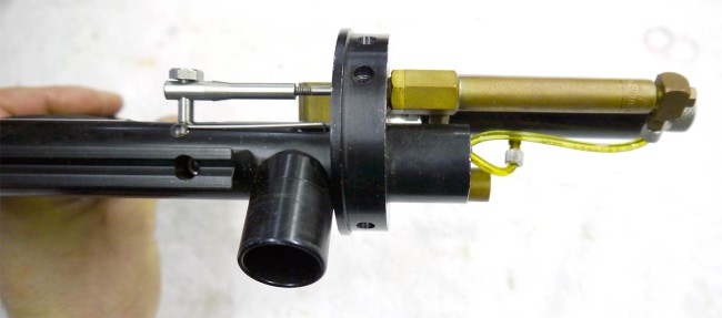Top view of the Pneumatic Block on the Lapco Autospirit.
