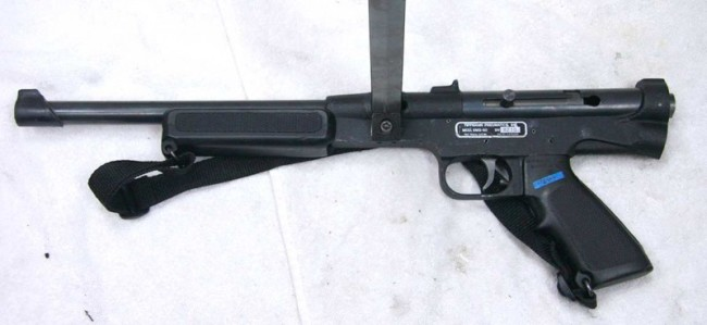 A Special Effects Tippmann SMG-60.