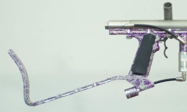 Classic Automag with custom cuts in purple. CCM?