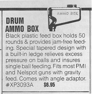 June 1988 APG I and I sport ad for WGP Ammo Box.