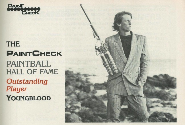 Top crop of Paintcheck May 1990 articles on Dave Youngblood DeHaan, from the 1990 Paintcheck Hall of Fame issue.