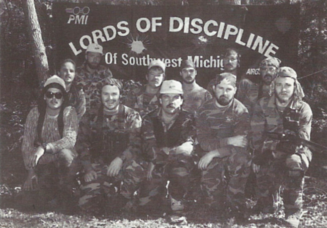 Lords of Discipline at the 1989 Master tournament.
