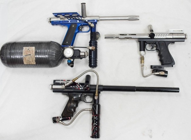 The Blue Automag and a couple others that are getting parted out.