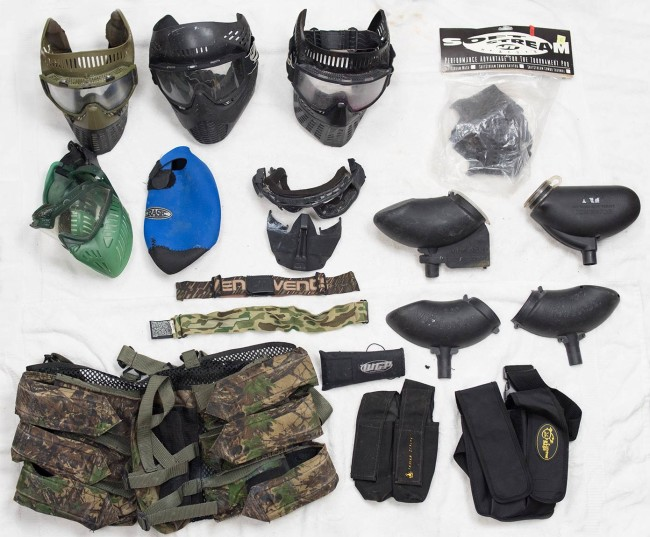 Masks, packs, hoppers and more added to inventory in October 2015.