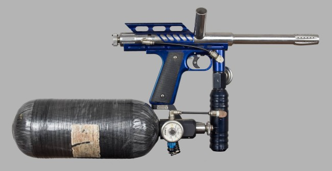 Blue Automag right side