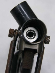 Flat Head adjustable bolt (some are hex adjustable). Site Ranger typically came without adjustable bolts.