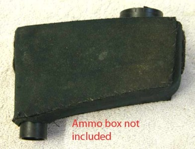 Side view of Ammo Box neoprene cover.