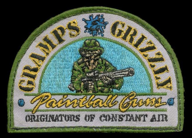 Gramps and Grizzly Patch, scanned from Mike Grubb's Idema vest.