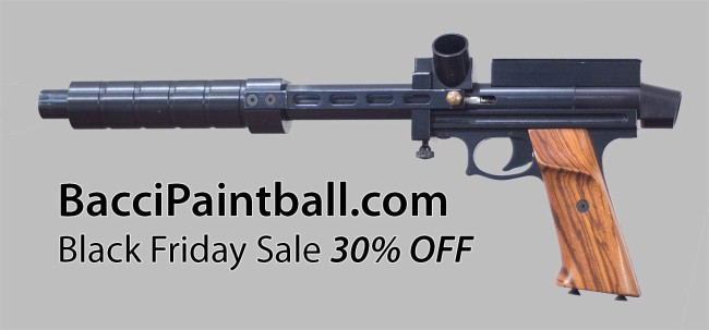 BacciPaintball 30% off black friday sale