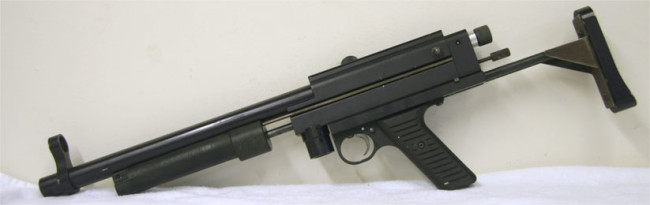 WGP Tactical MP5 Sniper with Sliding stock. Serial is around 5K.