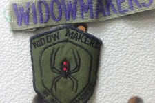 Stanley Russell's Widowmakers patch