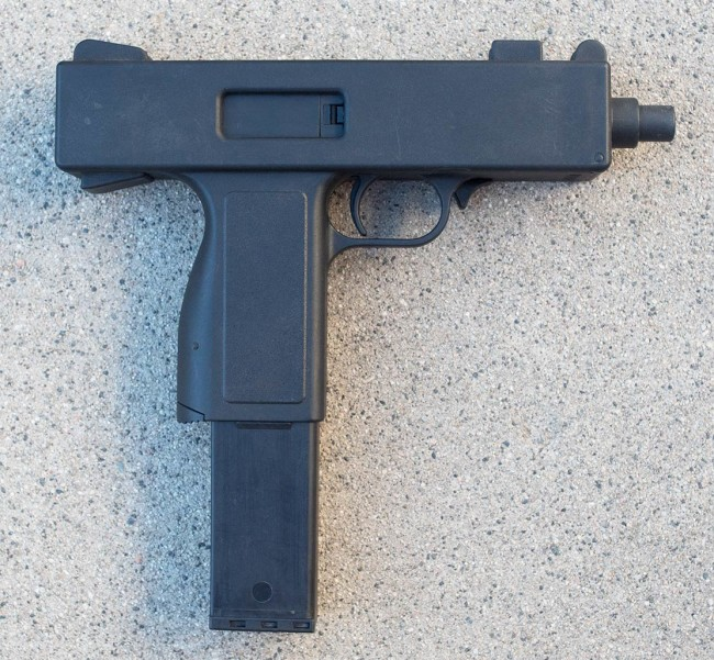 Right side view of the Para-Ordnance Mod 85.
