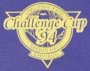 Front Breast pocket photo of Challenge Cup 94 Shirt.