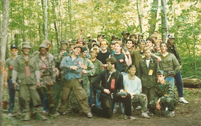 Group of players at Joe Survival. Photo courtesy Glenn Logie.