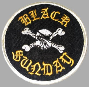 Black Sunday patch from the Gramps and Grizzly patch collection.