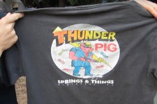 "Thunder Pig Springs and Things T-Shirt with Ted ""Two Guns"" Hines"