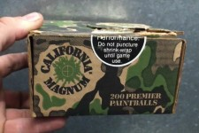 California Magnum Paintball Box from early 1990s