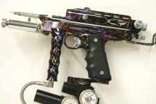 Kapp Autococker Right Feed with Rainbow Anodizing