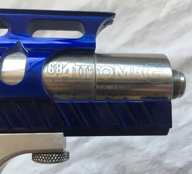 68 Automag valve on Coleman's Automag.