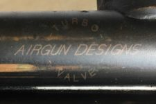 Airgun Design Turbo Valve engraved Sheridan Long Barrel