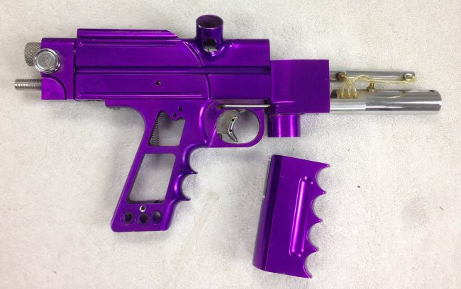 The Autococker Formally Known As Prince, built by Brad Nestle in the early to mid 1990s (1994/95?).