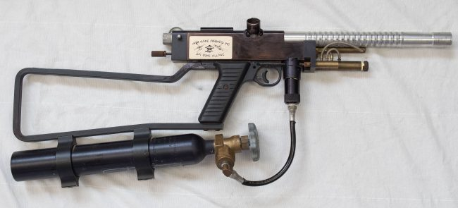 Sniper 1, serial number 2, converted into an Autococker.