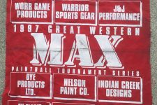 Great Western Series Tournament Flag from 1997
