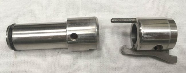 Hypertech Bore drop bolt and hammer would work on Bushmaster, Spirit and other standard length Bore drop Nelson pumps.