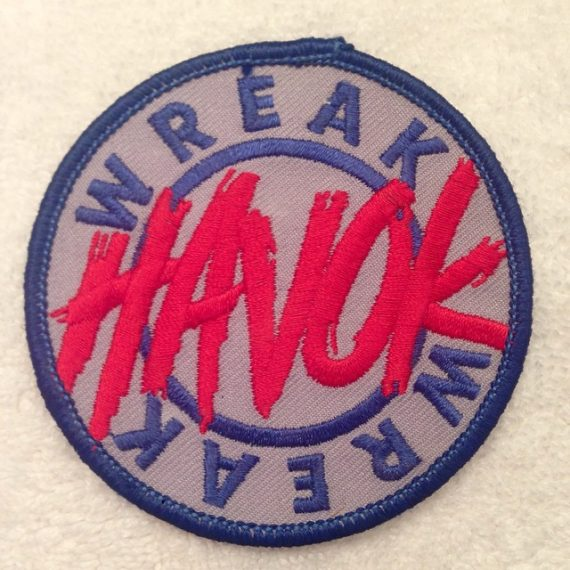 Joe Comstock designed this patch for mid to late 80s Paintball team Havok.