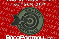 June 48 hour sale on BacciPaintball dot com Running until tomorrow