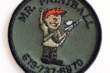 Mr. Paintball patches added to inventory