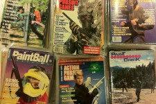 More classic Action Pursuit Games, Paintball Sports International and Paintcheck magazines
