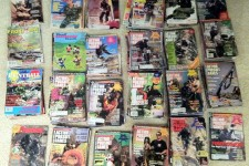 A load of classic paintball magazines arrived!