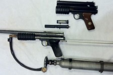 A Classic Mac 1 converted PG and Jay the Buzzard Jackson's Annihilator